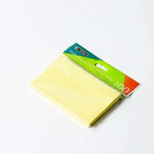 Sticky Notes 5 X 3 100 Sheet Pastel Yellow Perfect Stationery
